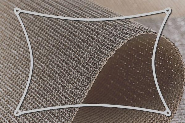 CDUALTR500,Sonnenschutz - Sonnensegel dreieck