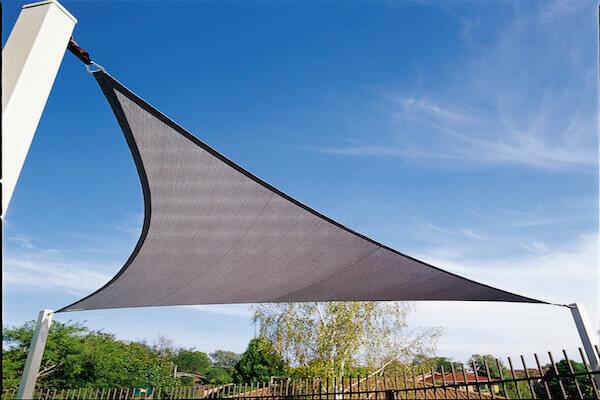 CPREMTR500,Sonnenschutzsegel - Sonnensegel dreieck