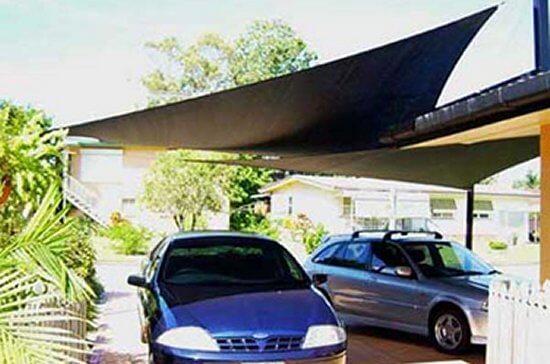 Sonnensegel  - sonnensegeln quadratisch /dreieckig mit  UV-Schutz